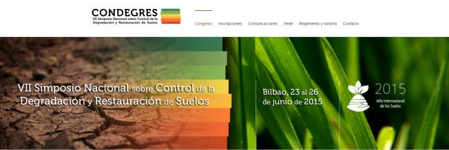 VII Simposio Nacional sobre Control de la Degradación y Restauración de Suelos